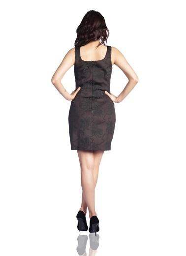 6ixty8ight Askılı Dar Mini Elbise Siyah